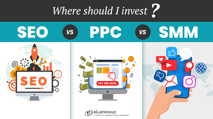 Where Should I Invest SEO, PPC or Social Media Marketing