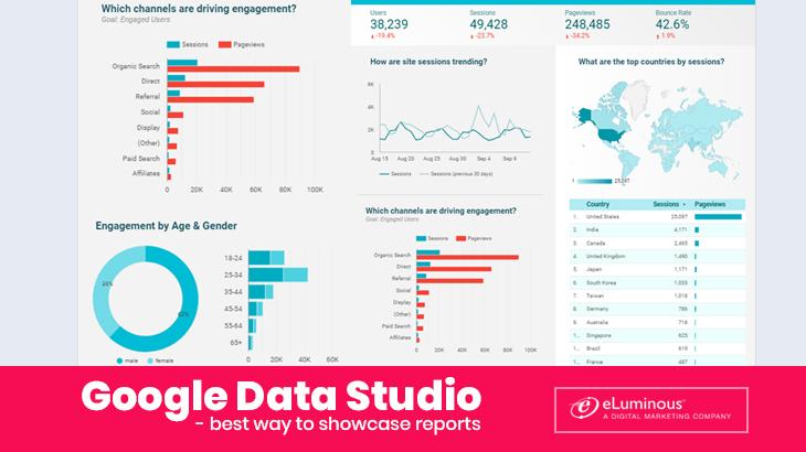 google data studio for reports