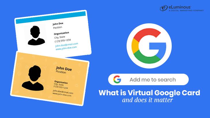 Virtual Google Business Card