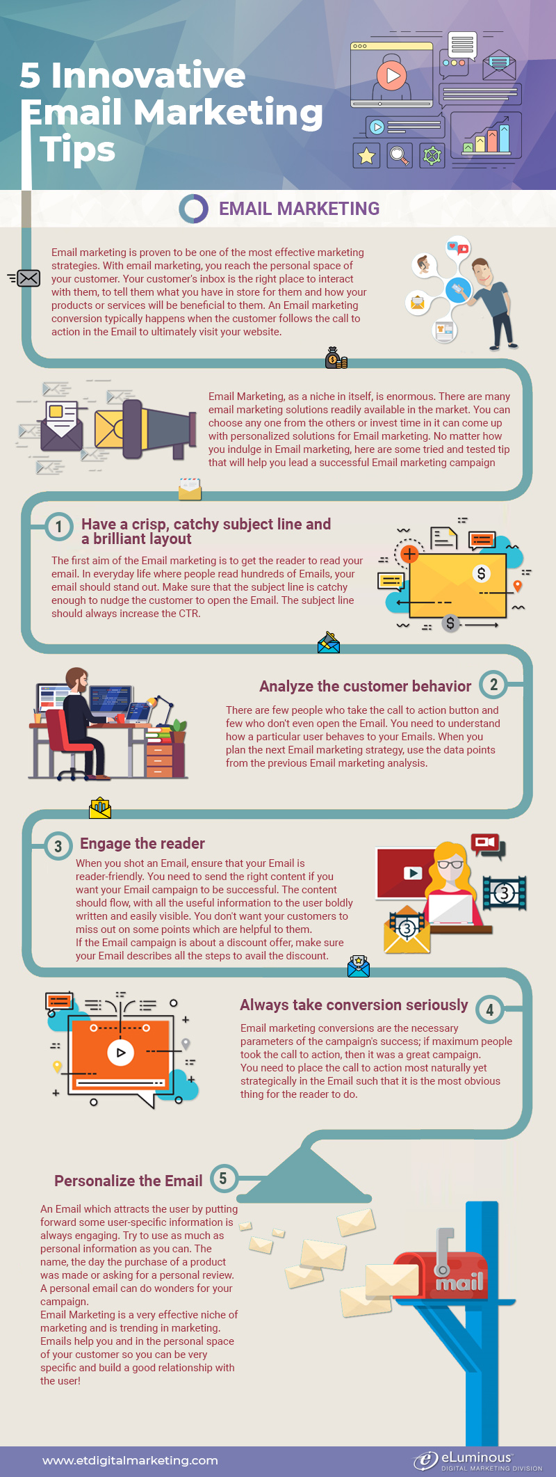 Innovative Email Marketing Tips