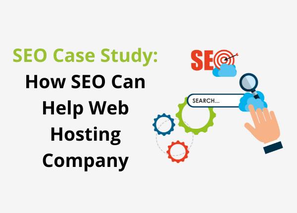 seo for web hosting case study